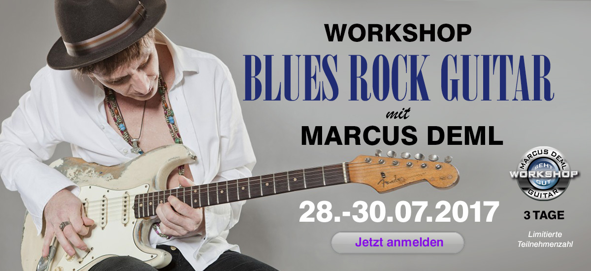 Marcus Deml Workshop im Juli 2017