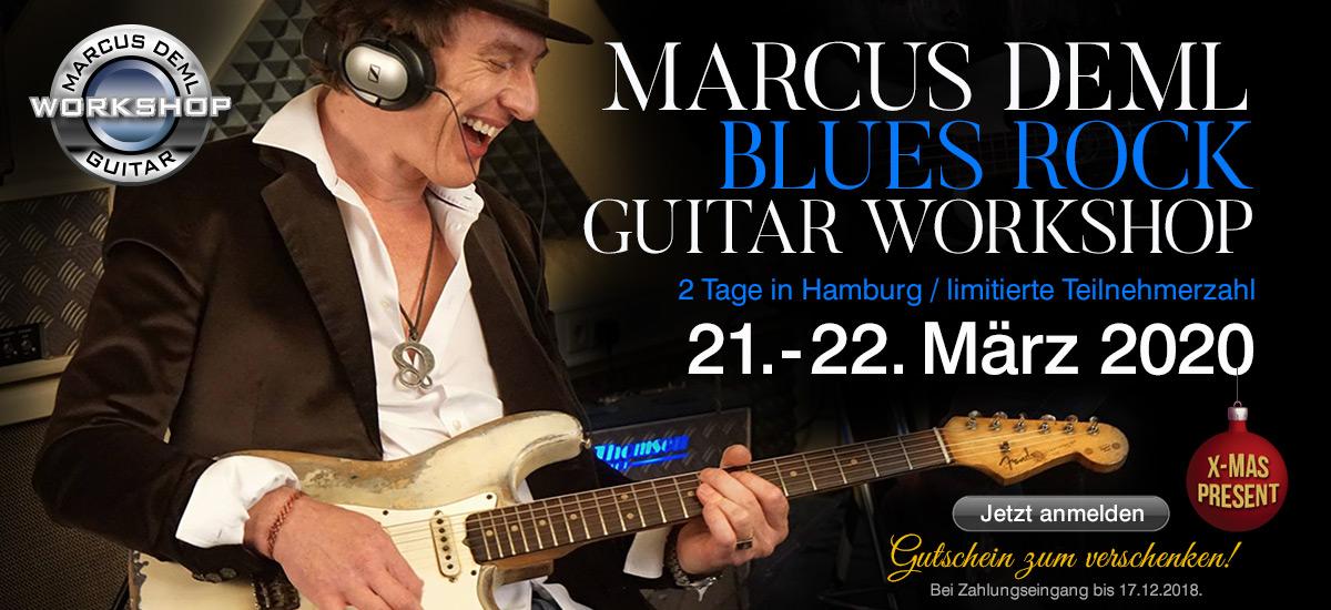 Marcus Deml Blues Rock Workshop