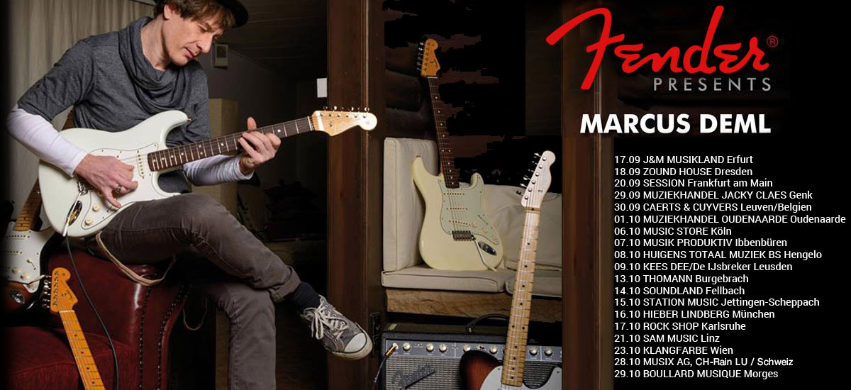 Fender presents Marcus Deml