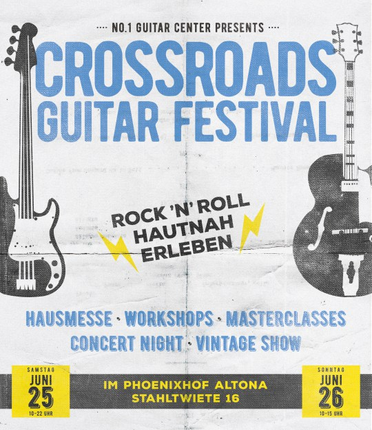 No1 Crossroads Guitar Festival 2016 Hamburg