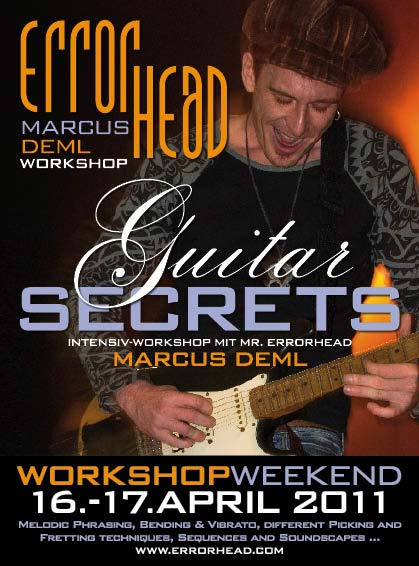 Errorhead Guitar Secrets Workshop April 2011
