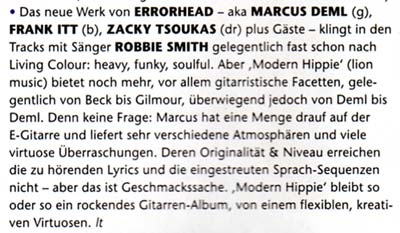 Errorhead Review @ Gitarre & Bass